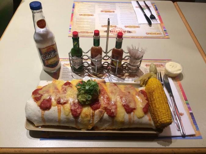 Cantina Wests New Lambton Burrito Loco Challenge