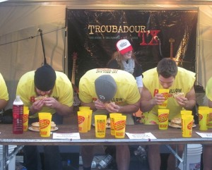 Definition Eating Contest
