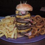 Multi Patty Burger Challenge