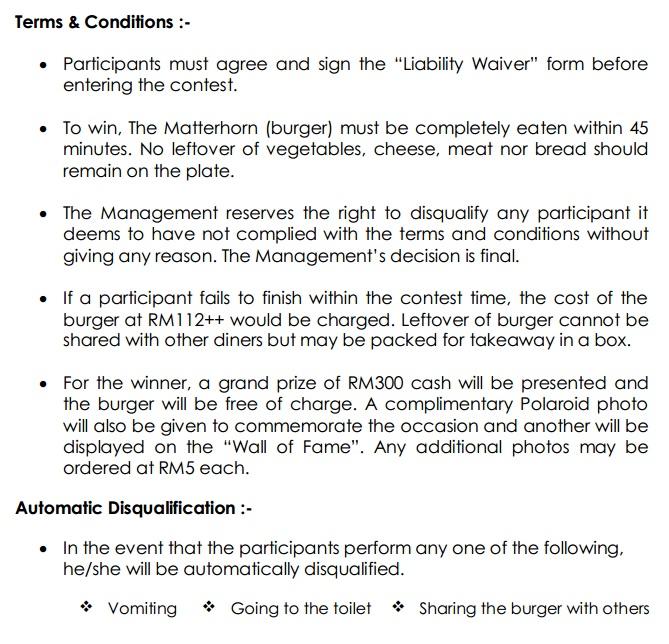 matterhorn rules