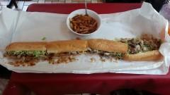 Cajun Stop Undertaker Sandwich Challenge
