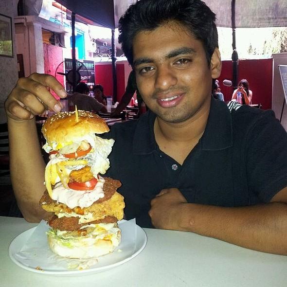 Burger Barn Cafe S Wtf Burger Challenge Fc Road