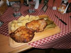 Vyber's Jumbo Pork Schnitzel Challenge Ostrava