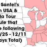 Randy Santel's 2015 Eastern USA & Canada Tour Schedule