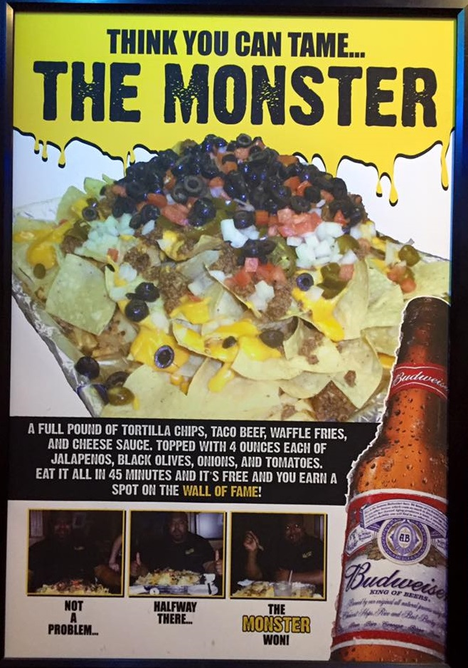 Overtime Grill Monster Nacho Challenge Rules