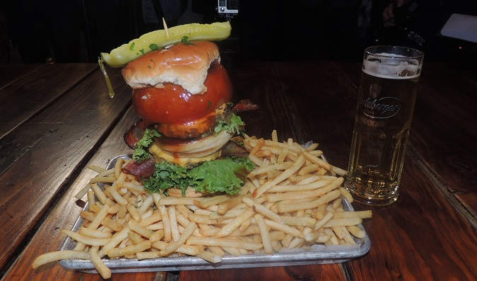 Clinton Hall Burger Challenge