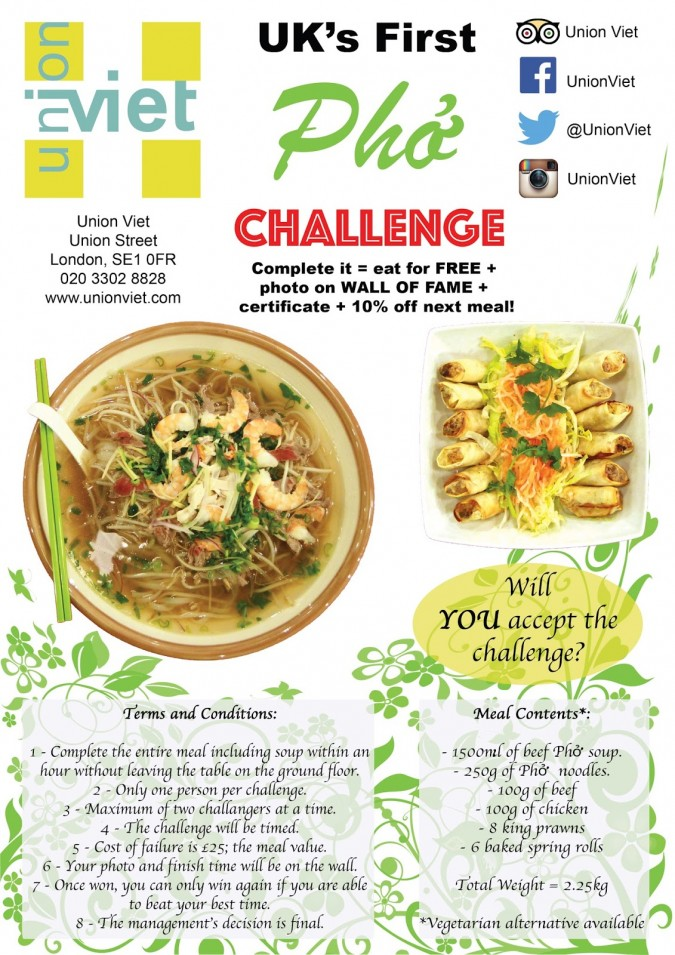 Food Eating Challenges London