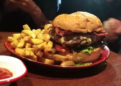Guilty Rogue Burger Challenge