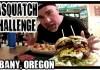 Bigfoot Bites Sasquatch Burger Challenge Photo