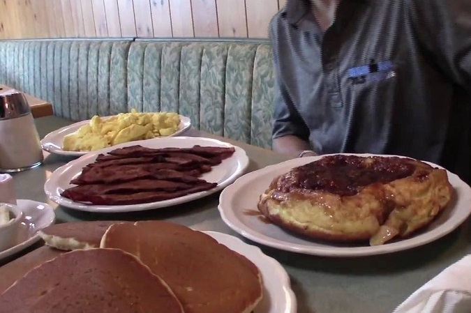 Lester's Meal Challenge Original Pancake House