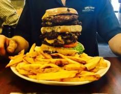 Taste of Detroit Double Triple Burger Challenge