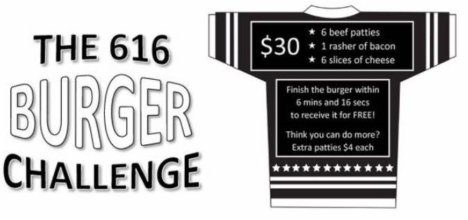 616 Burger Challenge Rules