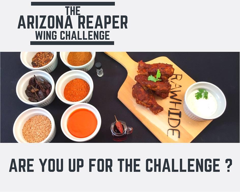 rawhide 39 s arizona reaper wing challenge foodchallenges