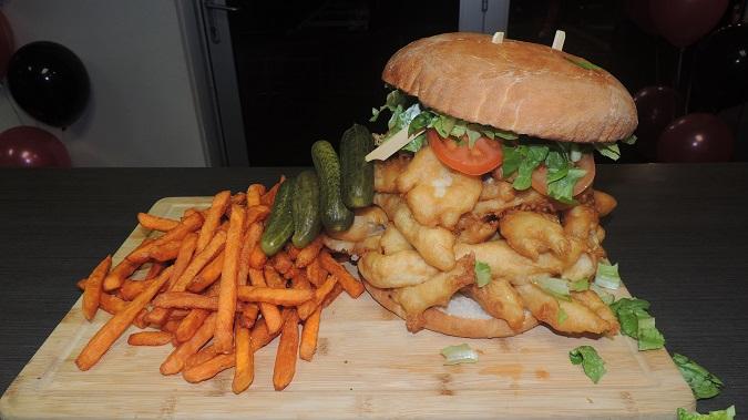 McQueens Tavern Fish Sandwich Challenge