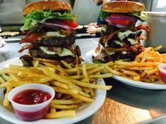 Trident Navy Seal Burger Challenge