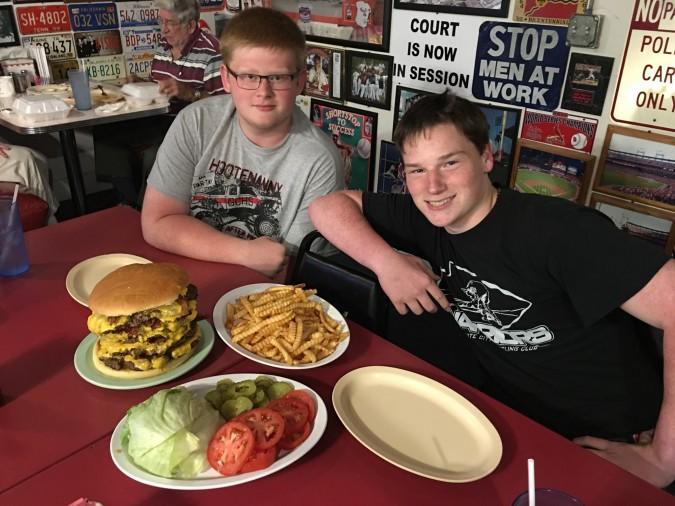 Park Grill Team Burger Challenge