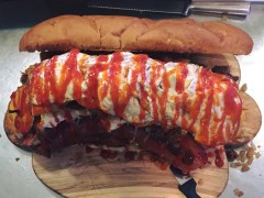 Lucky Louie's Moby Dick Sandwich