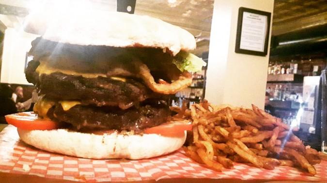 Bernard Stanley's BSG Burger Challenge Newfoundland
