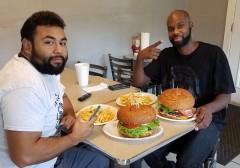 Busta's Burger Challenge Crosby