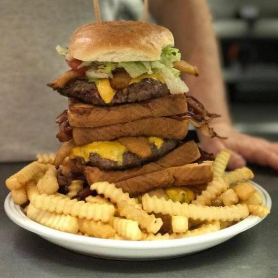 Jeff's Big Ass Burger Challenge Delaware