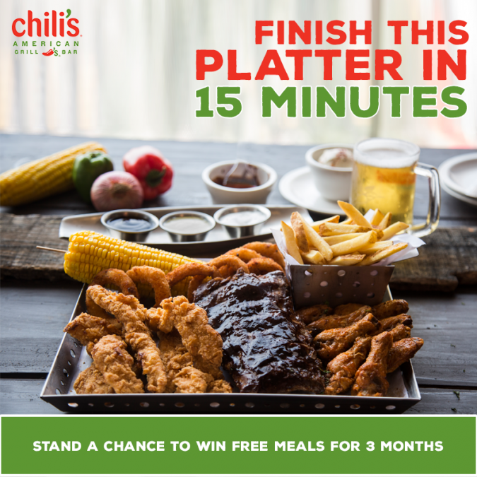 Chili's Ultimate Eating Challenge