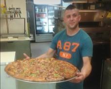 Alexandra's Pizza's 12lb Pizza Challenge