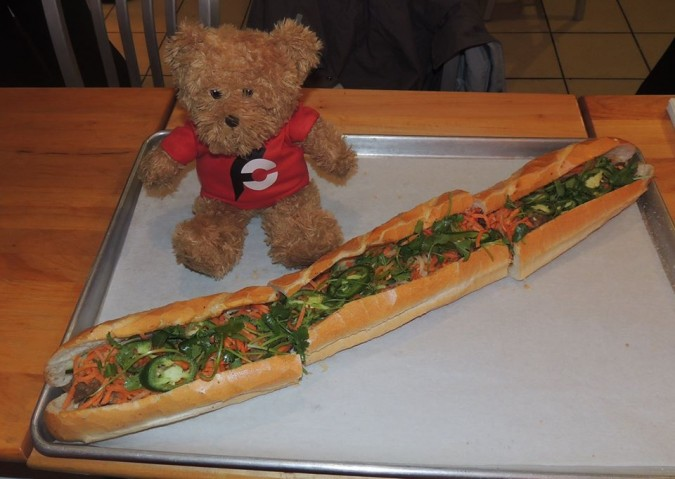 Lu's Vietnamese Banh Mi Sandwich Challenge