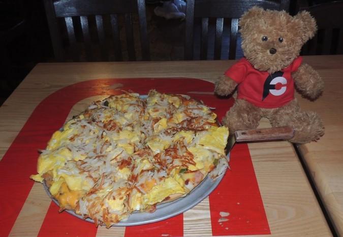 Kozy Korner 6lb Breakfast Pizza Challenge