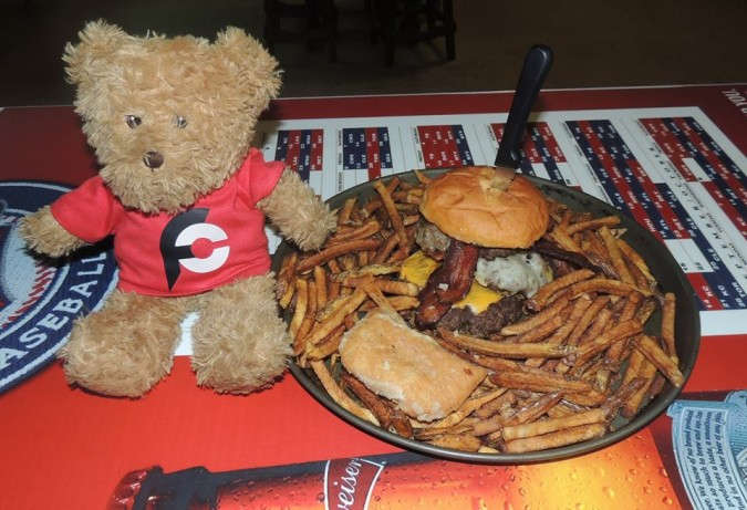 Mainline's Iron Horse Burger Challenge