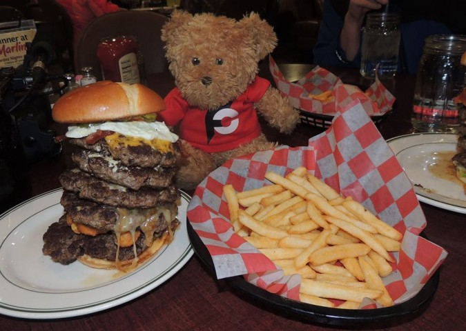 Marlin's Roadhouse Burger Challenge