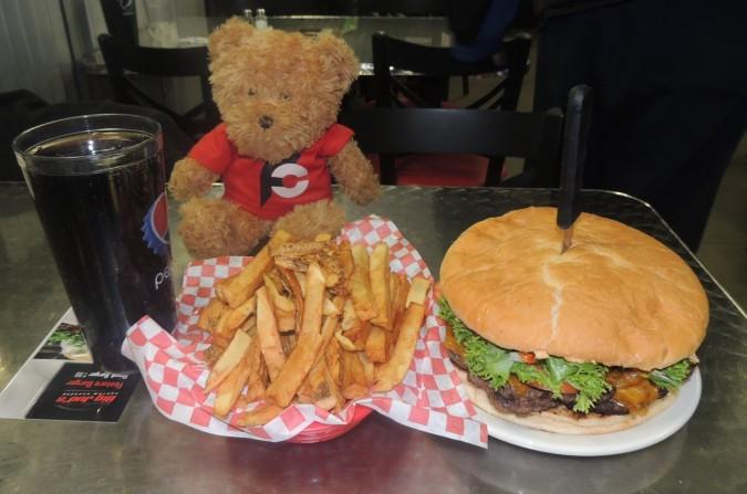Big Jud's 2lb Burger Challenge Boise Idaho