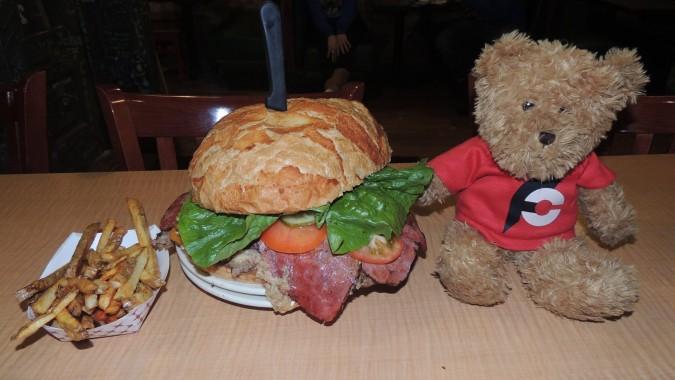 Scrud's Bodacious Burger Challenge Ogden