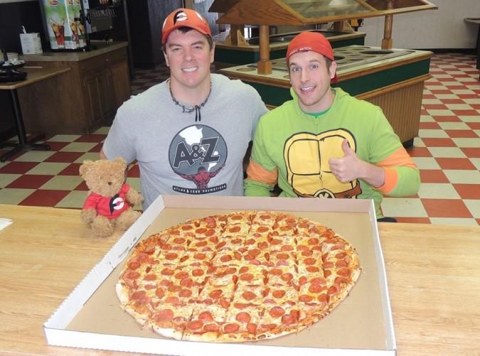 Boss Hog Huge Team Pizza Challenge