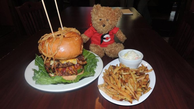 Q Bar's Big Boy Burger Challenge