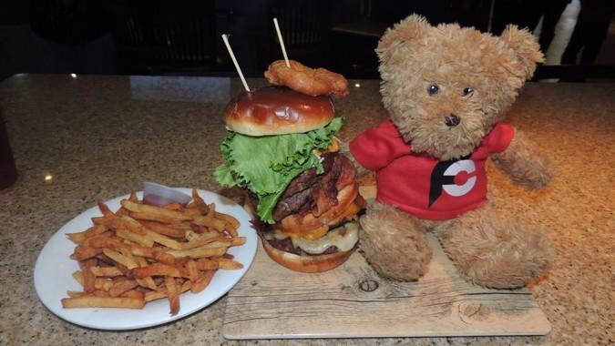 Rocky Vander's Disaster Burger Challenge