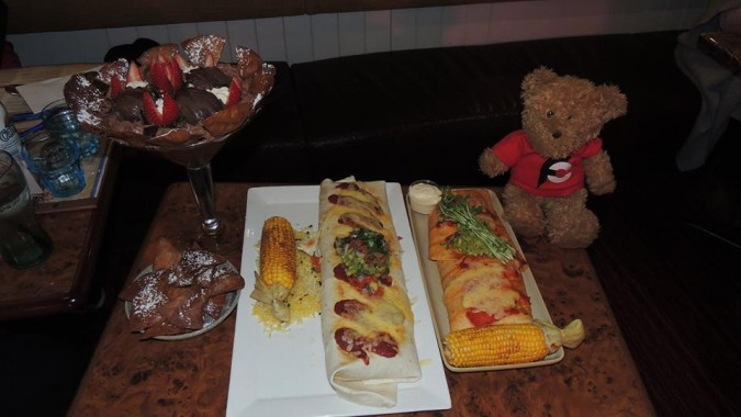 Cantina's Burrito and Dessert Challenges