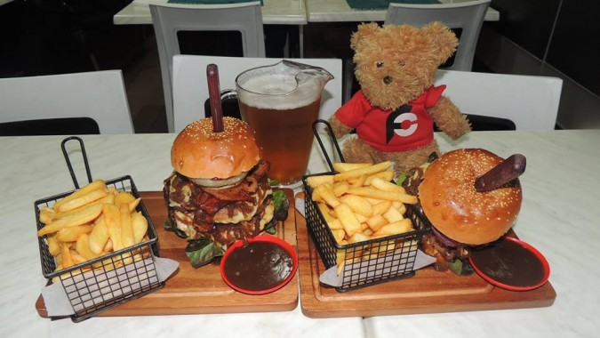 London Burgers and Beers Challenge
