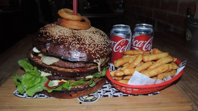 Burger and Beer Bar's Don Burger Challenge