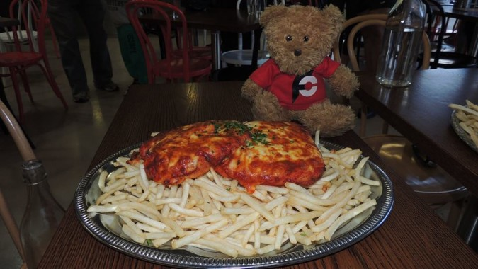 La Porchetta's Monster Parma Challenge