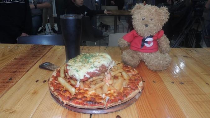 Zak's Pizza Parmy Challenge