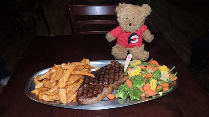 Outback Jack's 1kg Steak Challenge