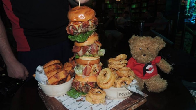 McGettigan's Irish Burger Challenge