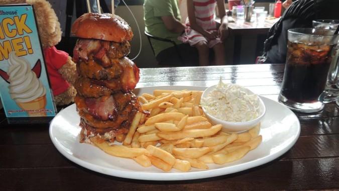 Roadhouse's Terminator Burger Challenge