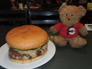 #535 Central Cafe's Gotham Burger Challenge