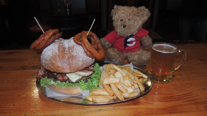 Wildside's Challenge Burger Whangarei