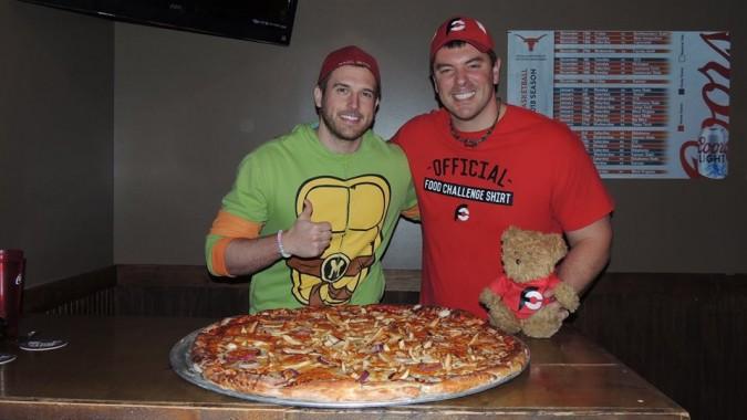 Maggiore's Big Azz Texas Pizza Challenge
