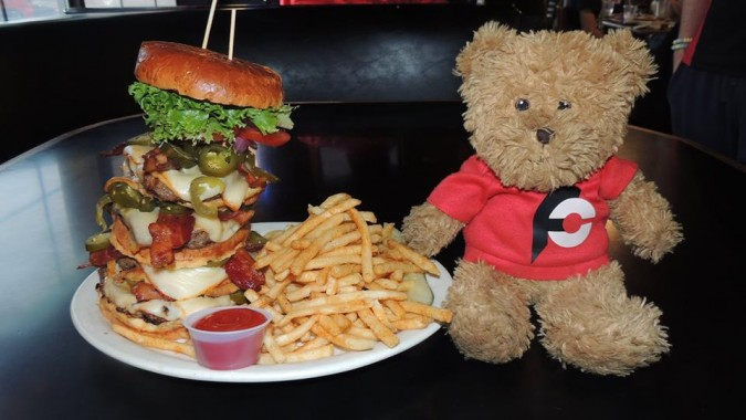 Trident Grill's Navy Seal Burger Challenge