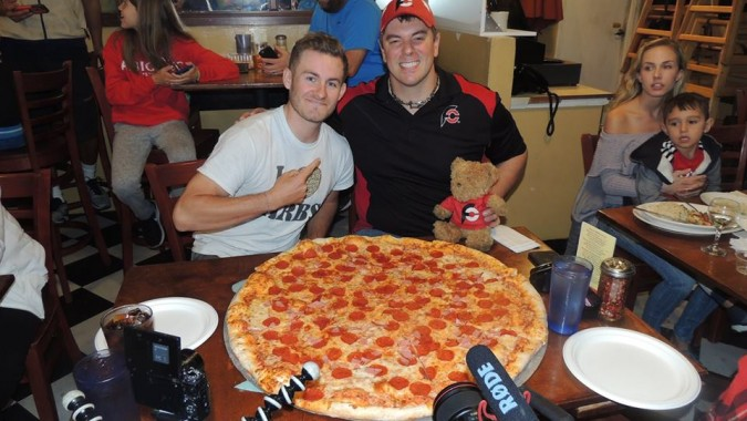 Luigi's 30 inch Team Pizza Challenge