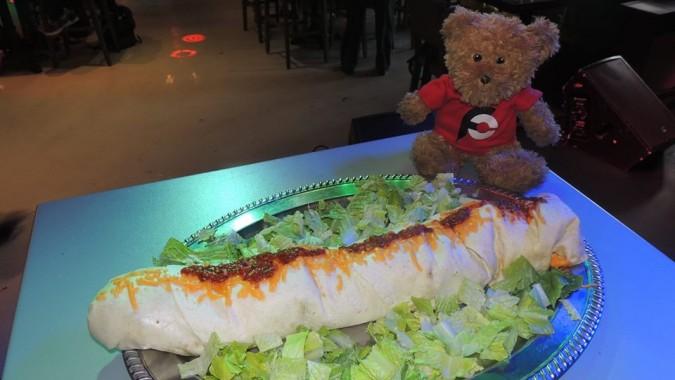 Rockhouse Monster Burrito Challenge