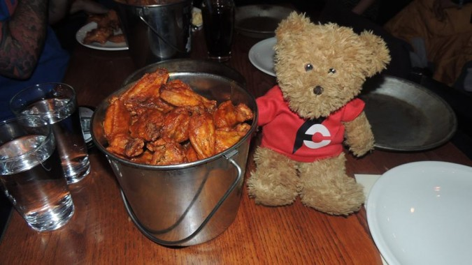 West End Tavern's 50 Wing King Challenge